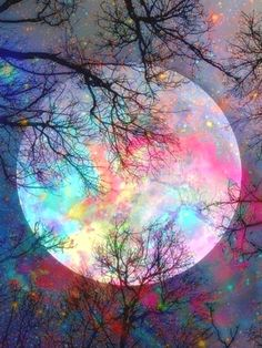 Produits – Page 4 – Broderie-Diamant-Shop - Produits – Page 4 – Broderie-Diamant-Shop La me - Hair Rainbow, Moon Painting, Painting Art, Paint By Number Kits, Cross Stitch Pictures, Good Night Moon, Beautiful Moon, Beautiful Flowers, Cross Paintings