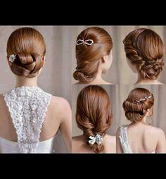 Weeding hair style