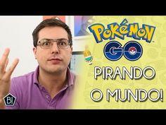 POKEMON GO! VICIANTE E PERIGOSO!?!! O JOGO QUE CHEGOU CAUSANDO GERAL!! - YouTube Pokemon Go, Baseball Cards, Youtube, Games, Youtubers, Youtube Movies