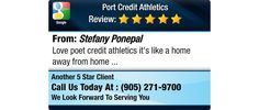 Love poet credit athletics it's like a home away from home