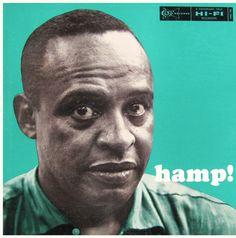 "Lionel Hampton: Hamp! Label: Clef 738 12"" LP 1956 Photo: Herman Leonard"