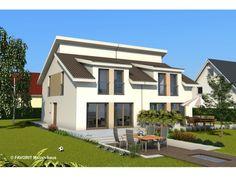 Finesse 104 - #Doppelhaus von Bau Braune Inh. Sven Lehner | HausXXL #Massivhaus…