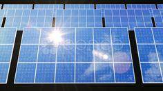 Solar Panel D2L HD - Stock Footage   by bluebackimage