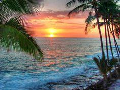 Hawaii Sunset!!!