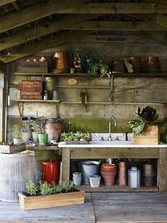 Dream garden shed | Agrarian: Williams-Sonoma