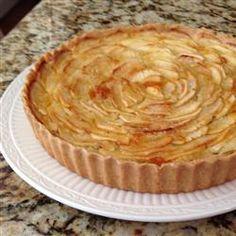 French Apple Tart (Tarte de Pommes a la Normande), photo by amy