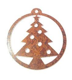 """Christbaumschmuck """"Weihnachtsbaum"""" Edelrost Dreamlife http://www.amazon.de/dp/B0187U5SGA/?m=A105NTY4TSU5OS"""