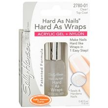 """Whenever I paint my nails they always start chipping almost immediately. Well a friend recommended to me Sally Hansen Hard as Wraps Acrylic Gel + Nylon Nail Treatment & it is AMAZING!!! I went one whole day without any chipping. I had many """"that's gonna leave a chip"""" moments & still no chips! Now one day later I do see a very little chipping starting, but that really could be due to the fact that I used cheap Nail Polish. My friend's nails have not chipped in a week, she used OPI nail…"""