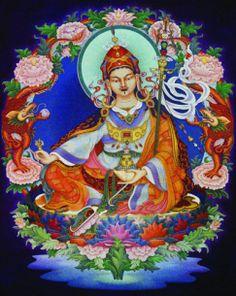 Khandro Sherab The Lotus King: Padmasambava | Goldenstein Gallery, Sedona