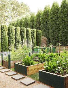 Elegant ve able gardens With outdoor space such a precious modity these days many contemporary kitchen