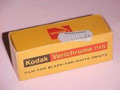 74 cents in 1977!  Kodak VP 620 Verichrome Pan Film