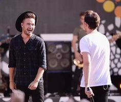Liam and Louis on Good Morning America (8-4-15)