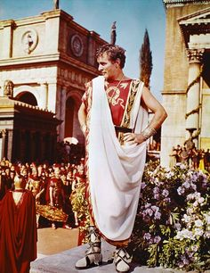 Cleopatra, 1963 - The love affair between costars Richard Burton, pictured here dressed as the Roman general Mark Antony, and Elizabeth Taylor, both of whom were married to other people at the time, caused an international sensation—not to mention another divorce for Taylor. The worldwide attention the romance received rivaled that of the production itself.