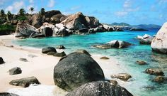 Virgin Gorda, British Virgin Islands!  The baths on VG are something to be admired. This gorgeous island was the start of my love for scuba diving. Everyting Cool!! Have a stamp.