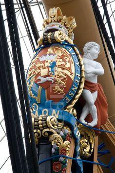 HMS Victory Figurehead.