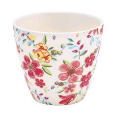 "GreenGate Latte Cup ""Sophia"" White"