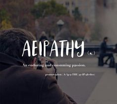 Aeipathy