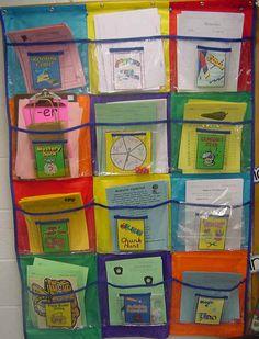 Cool Teach - Adventures in Teaching: Literacy Centers Galore! Classroom Organisation, Classroom Fun, School Organization, Literacy Stations, Literacy Centers, Work Stations, Reading Centers, Reading Workshop, Kindergarten Literacy