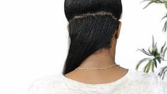 Hairlicious Inc.: 7 Ways to Grow Your Nape Area Natural Hair Regimen, Natural Hair Tips, Natural Hair Growth, Natural Hair Styles, Healthy Relaxed Hair, Healthy Hair, Cut My Hair, 4c Hair, Tight Braids