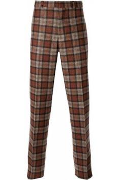 Herenbroeken - Brooks Brothers Tartan Trousers
