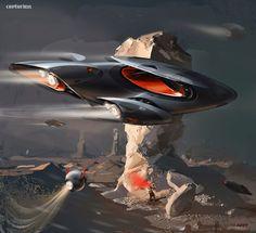 Svyatoslav Konahovski,Sci-Fi,art,арт,красивые картинки