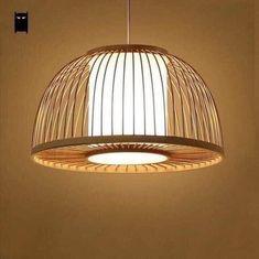 Leo Bamboo Rattan Stick lampshade light pendant Handicraft | Etsy Bathroom Light Fixtures, Pendant Light Fixtures, Ceiling Pendant, Pendant Lighting, Bathroom Lighting, Light Pendant, Asian Lighting, Room Lights, Ceiling Lights