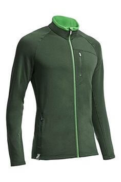 Icebreaker Mens Sierra Long Sleeve Zip Sweater ConiferBalsamBalsam Medium ** You can get additional details at the image link.