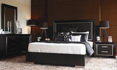 New York Bedroom Furniture by Insato from Harvey Norman New Zealand New York Bedroom, High Headboards, Buy Electronics, Harvey Norman, Dream Bedroom, Bed Frame, My Dream Home, Bedroom Furniture, Interior