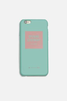 11+ FOR OPENING CEREMONY IPHONE 6 COLOR CASE
