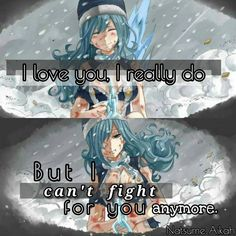 Anime: FT | I love you, I really do, but I can't fight for you anymore | chapter 499 | Gruvia