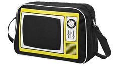 """Bolsa bandolera icono """"TV"""" para #regalos de empresa o #merchandising. Más información sobre el regalo en: http://www.regalodeempresagsr98.es/regalos-merchandising/bolsas-portafolios-viaje-119843/"""