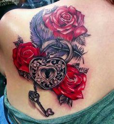 Black Ivy Tattoo- Katiè Ivy Tattoo, Rose Tattoos, Tattoo Art, Flower Tattoos, Tattoo Drawings, Pearl Tattoo, Blue Butterfly Tattoo, Rose Drawing Tattoo, Clock Tattoos