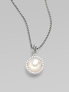 David Yurman pearl necklace.