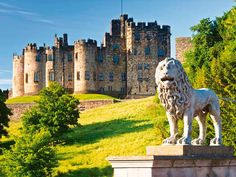 The North-East of England is known for its dramatic beaches, friendliness and notable buildings. Robert Chessyhre headed to Northumberland and found that it is a 'wonderful county'. Warkworth Castle, Lost Gardens Of Heligan, Alnwick Castle, Time To Leave, Family Days Out, Love Island, Sandy Beaches, Hogwarts, Baby Animals