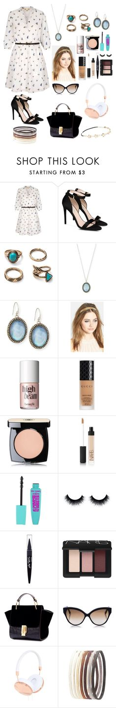 """""""Casual look"""" by sarah4ever123 ❤ liked on Polyvore featuring Yumi, STELLA McCARTNEY, Armenta, France Luxe, Benefit, Gucci, Chanel, NARS Cosmetics, Maybelline and Cutler and Gross"""