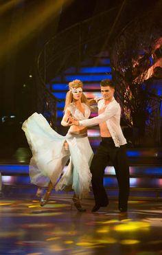 Abbey Clancy and Aljaz Skorjanec Perform In Week 6 Of Strictly Come Dancing 2013