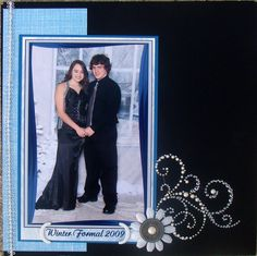 homecoming or prom photo layout