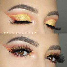 """@benefitcosmetics Browvo conditioning primer, Goof Proof brow pencil& Gimme Brow gel on top @morphebrushes 35B Palette on my eyes  on the lid As a base I used @tartecosmetics Tarteist Clay pot in """"Goldilocks"""" on the lid  @tartecosmetics Tarteist Mascara and shape tape concealer. @shopsofiebella """"FOR REAL"""" lash Shop Now  www.shopsofiebella.com:"""