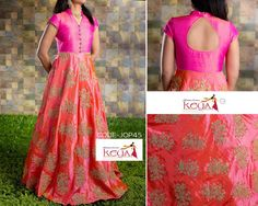 Ethnic wear and Neck line