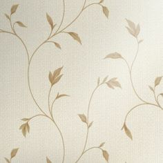 Lucia Wallpaper in a Neutral colour with a Vinyl finish by Opus