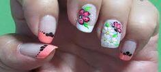 Resultado de imagen para uñas con flores 2017