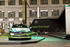 The Mercedes Concept Style Coupé inspired tape artist TAPE OVER to create an installation at the DMY International Design Festival in Berlin. Take a look!