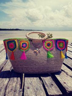 Rope Sandals, Embroidery Bags, Crochet Summer, Jute Bags, Denim Bag, Handmade Bags, Bag Accessories, Bikini Tops, Purses And Bags