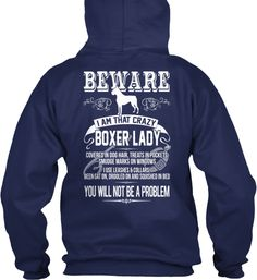 Limited Edition - BOXER LADY