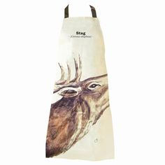 I Just Love It Stag Apron Stag Apron - Gift Details. Confirm his position as leader of the herd with this terrific Stag Apron. A gorgeous kitchen accessory thats worthy of the alpha male. Made from durable cotton the apron fea http://www.MightGet.com/january-2017-11/i-just-love-it-stag-apron.asp