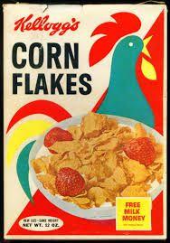 1970s memory lane cornflakes box