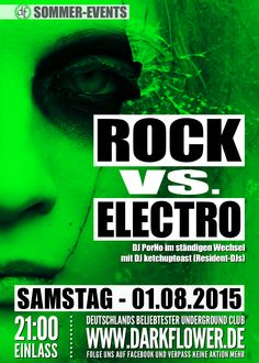 01.08.15 – Rock vs. Electro www.darkflower.de