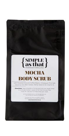 Simple As That make simple, effective natural skincare and natural sunscreen. This simple skincare routine will keep your skin healthy for life with organic, fair trade and vegan ingredients. Simple Beauty Routine, Beauty Routines, Scrub Shop, Ground Coffee Beans, Natural Sunscreen, Raw Cacao, Body Scrub, Natural Skin Care, Mocha