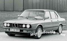 BMW 5 series E28 (1981-1988)