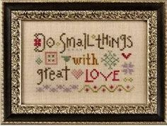 PREORDER LIZZIE KATE: Do Small Things With by NeedleCaseGoodies